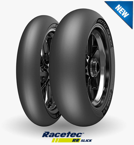 Metzeler Racetec RR Slick - Not For Highway Service - Track Day Sales