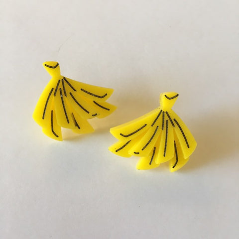 Flare Banana Earrings