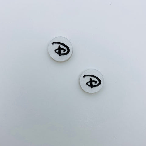 "Flare Signature ""D"" Earrings"