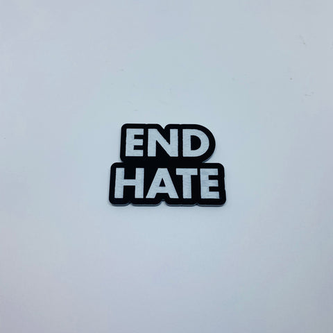Flare End Hate Lapel Pin