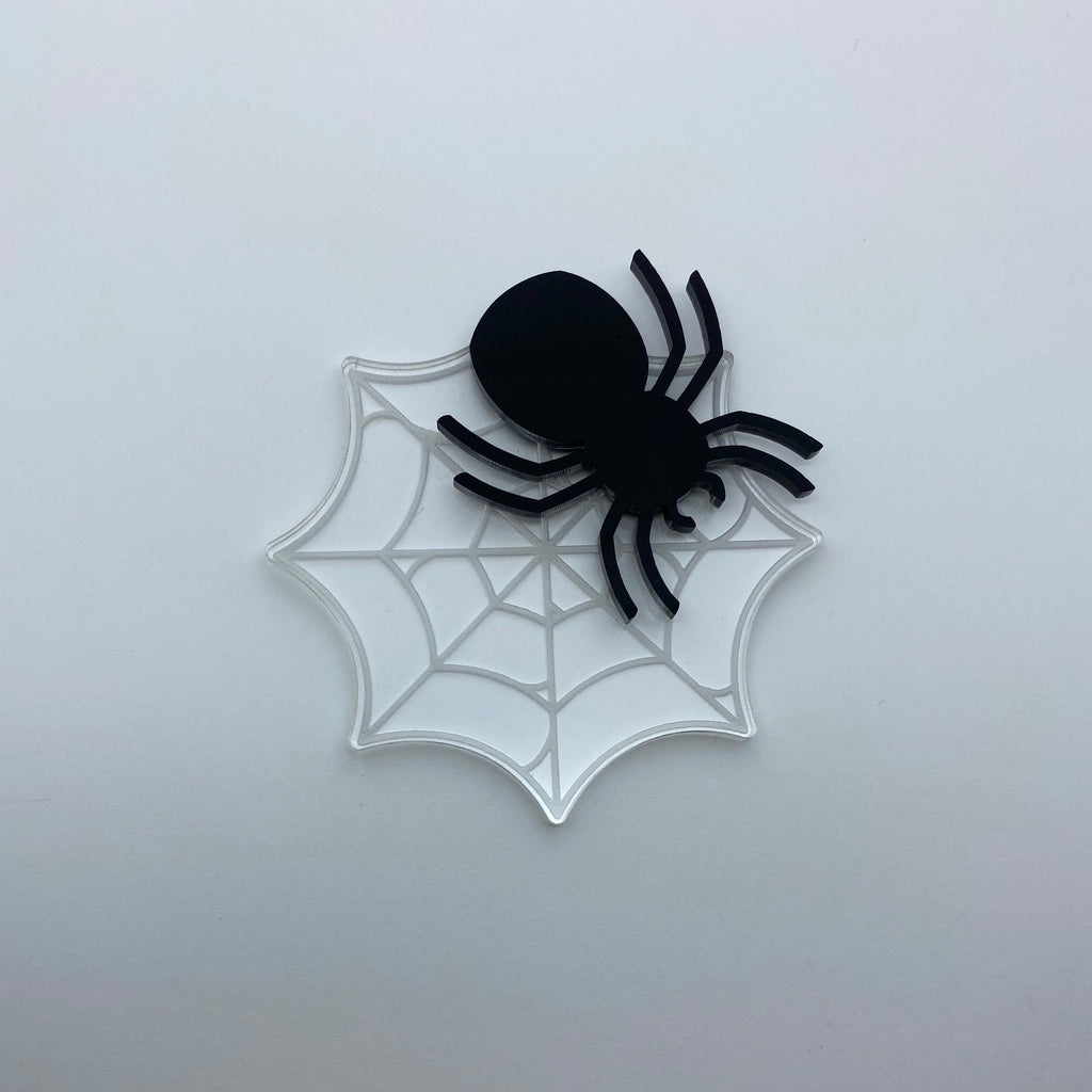 Flare Spider Brooch