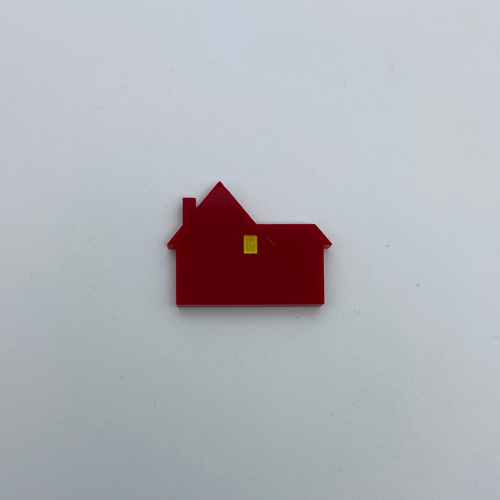 Flare Home Alone Lapel Pin