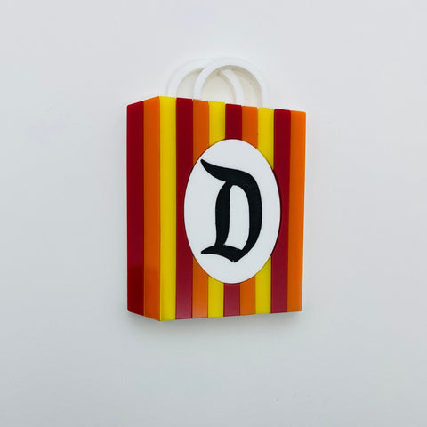 Flare Vintage Kingdom Shopping Bag Brooch
