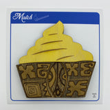 Wooden Pineapple Whip Litewood™ Brooch by Tiki Tony