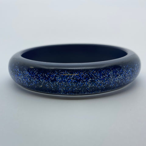 Confetti Lucite Medium Sparklite™ Bangle in Royal