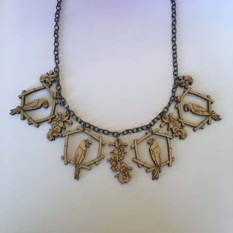 Wooden Enchanted Tiki Litewood™ Necklace