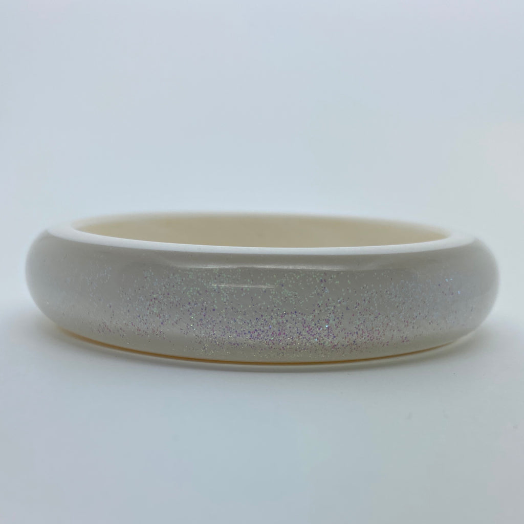 Confetti Lucite Medium Sparklite™ Bangle in Abalone