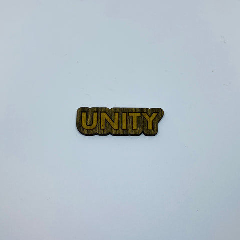Wooden Unity Litewood™ Lapel Pin