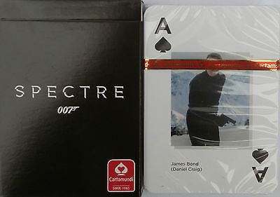 JAMES BOND 007 SPECTRE Casino Poker Playing Cards - Movie Poster Designs