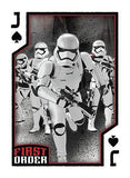 Star Wars The Force Awakens Resistance vs First Order Playing Cards - Cartamundi