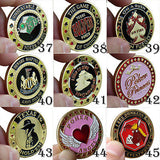 Poker Card Guard Protector - Many designs to choose from