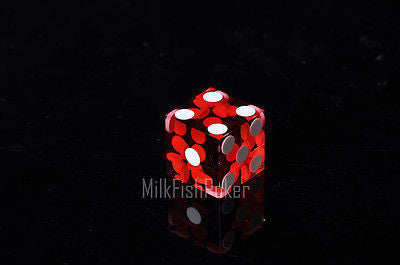 Acrylic Translucent Precision 19mm Dice - Pack of 5