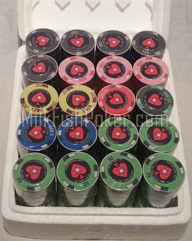 500 PCA Ceramic Poker Chips