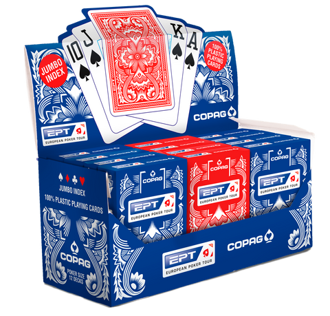 New COPAG EPT Official 100% Plastic Playing Cards