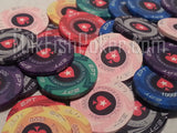 300 EPT Ceramic Poker Chip Set with Black ABS Case