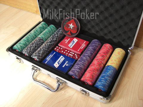 300 EPT Ceramic Poker Chip Set WITH CASE