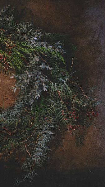 Wreath Making Class /// 12/8/2016 Event