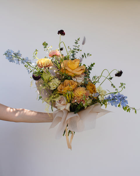 Mama's Golden Heart Bouquet