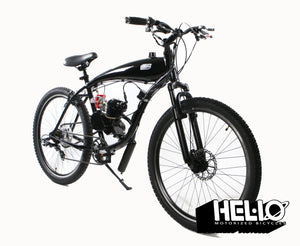 Series 43 2 Stroke Motorized Bicycle