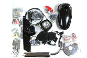 Motorized Bicycle Upgraded 66cc/80cc 2 stroke engine kit