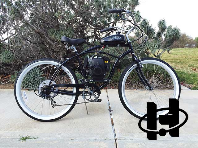 Basic 4G Motorized Bicycle