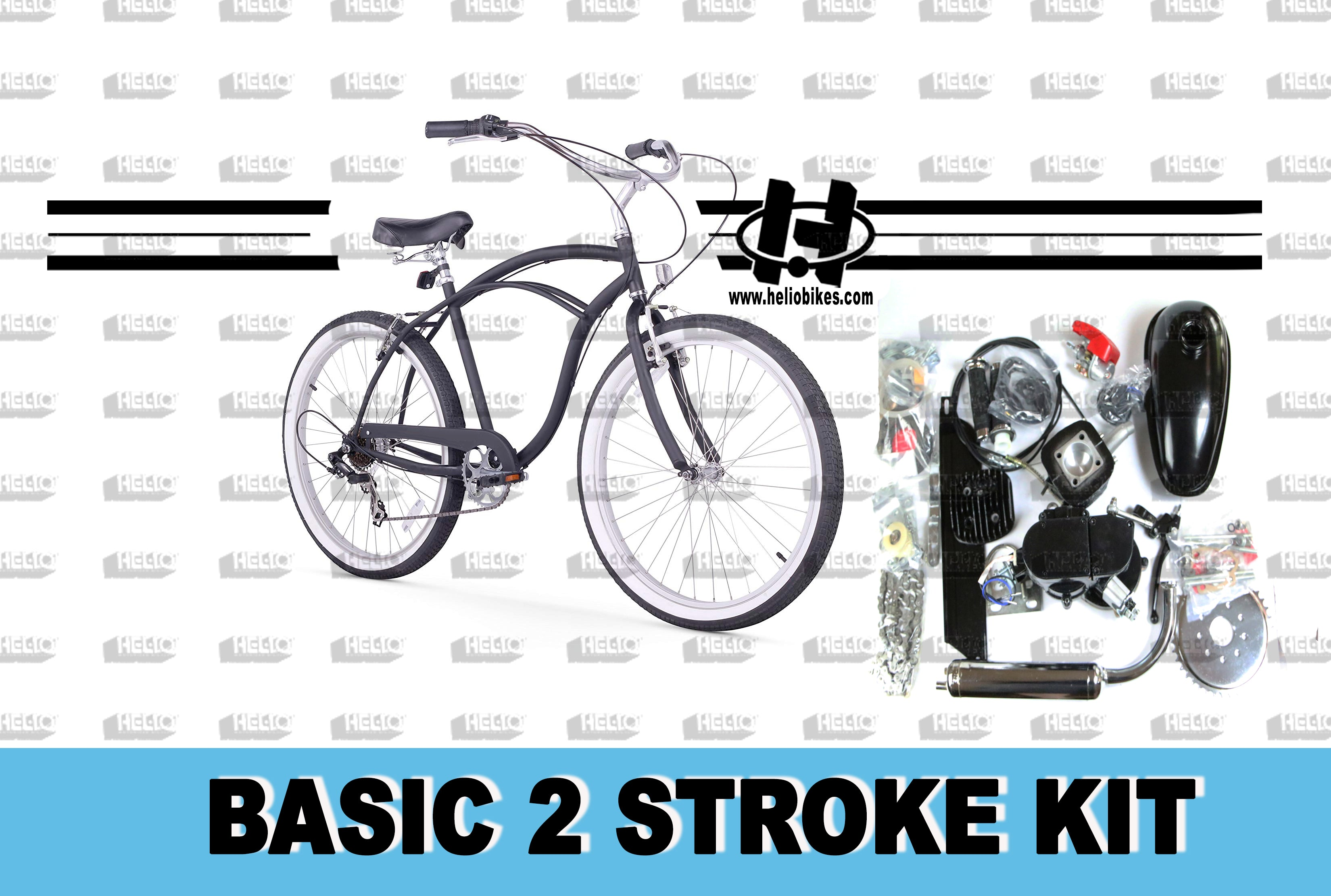 Basic 2 Stroke Kit with Bike