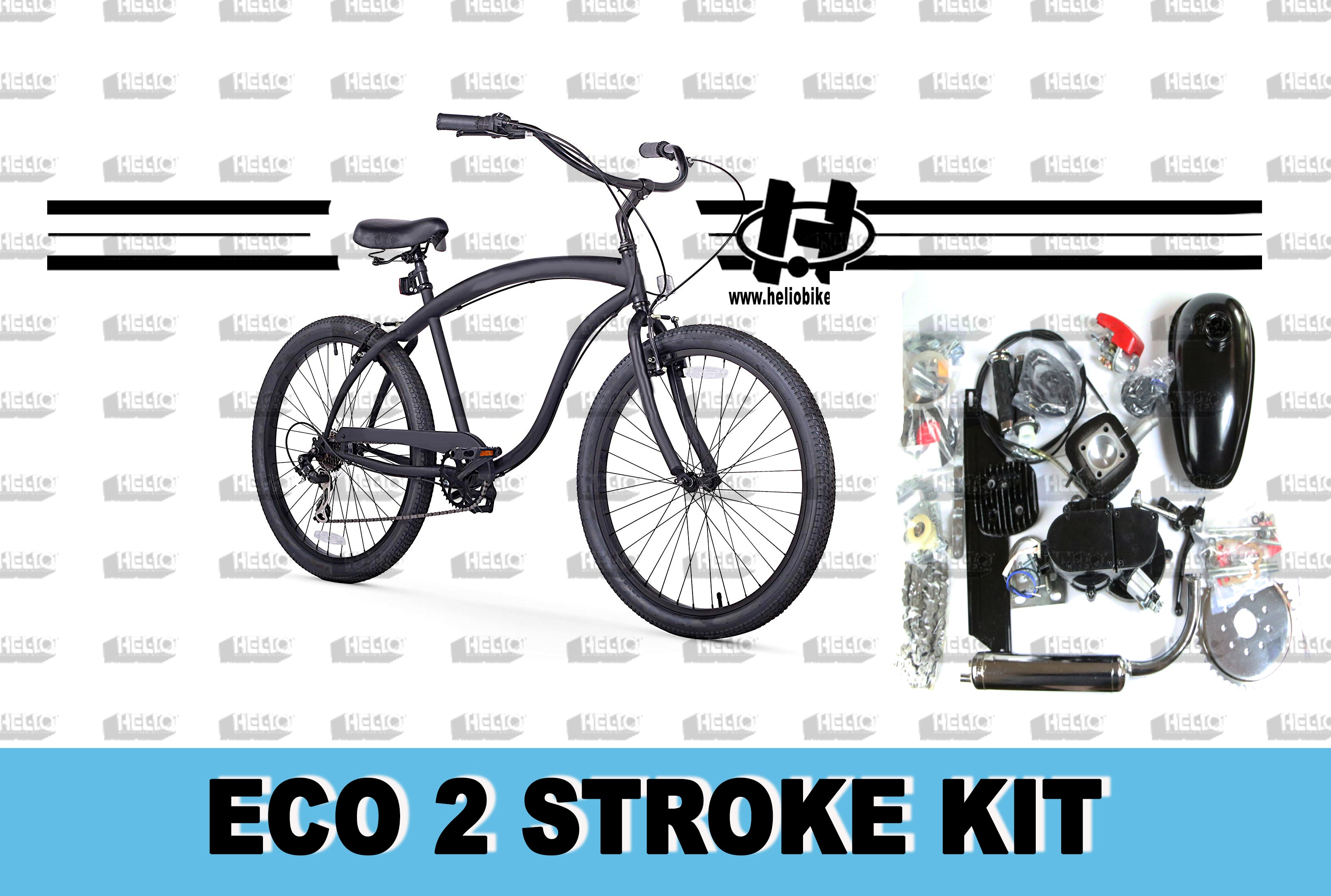 ECO 2 Stroke Kit with Bike