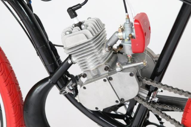 Basic 2 Stroke Motorized Bicycle