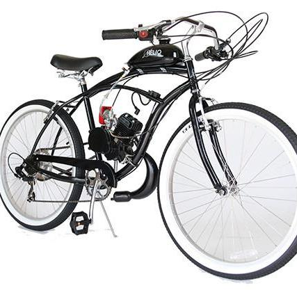 Custom Motorized Bicycle For Sale  4 stroke Motorized Bikes – Helio