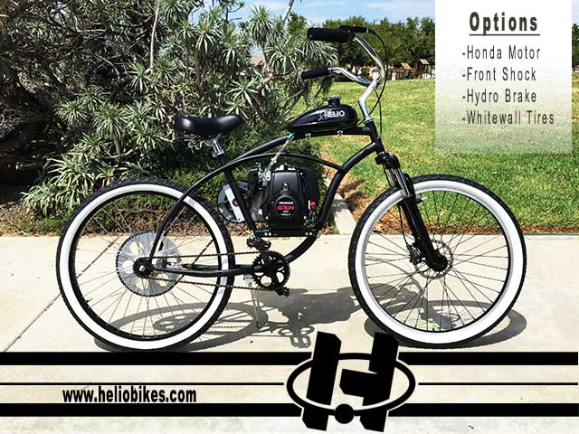 Basic Honda / EZM Motorized Bicycle