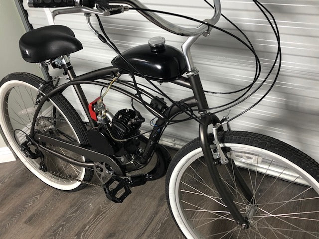 Basic 2 Stroke Motorized Bicycle AVAILABLE NOW