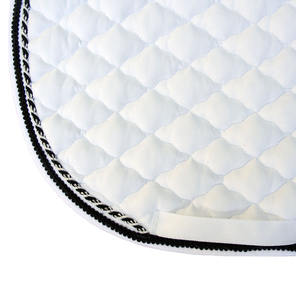 saddle pad with cord
