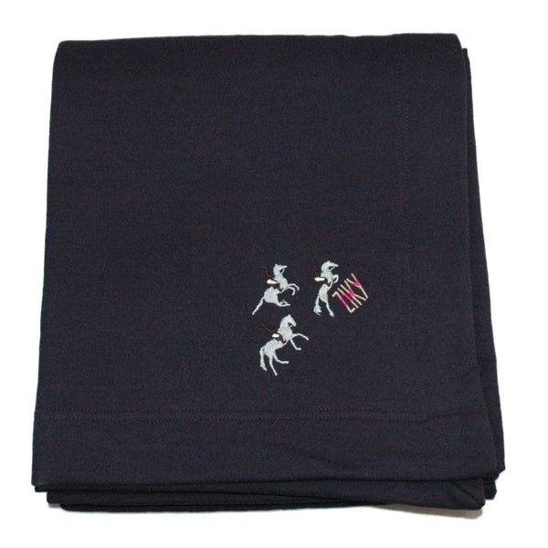 Equestrian through blanket