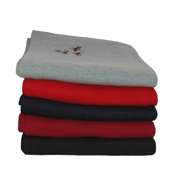 Equestrian blankets for home and travel