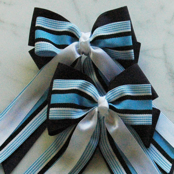 Girl's hunter jumper hair bow