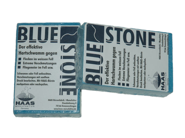 Blue stone cleaning sponge