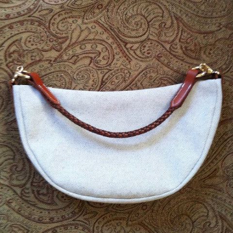 Horse brow band purse