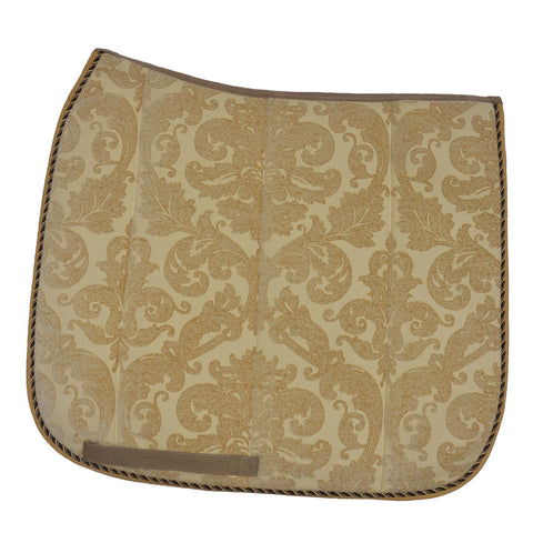 Designer dressage saddle pad