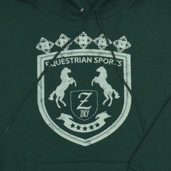ZIKY horse graphic hoodie