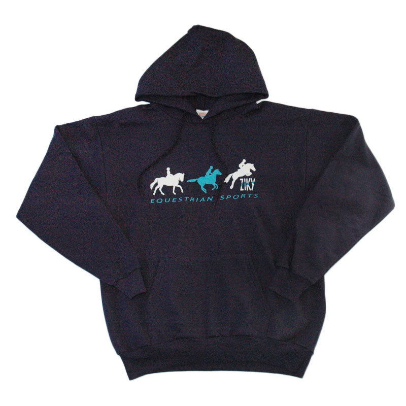 Equestrian Sports hoodie with eventing graphic
