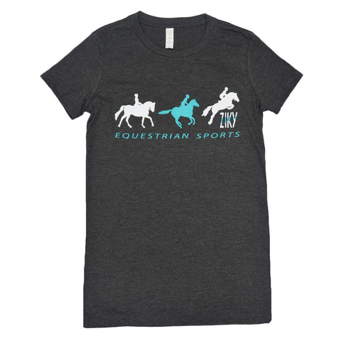 Equestrian Sports Shirt Smoky Black