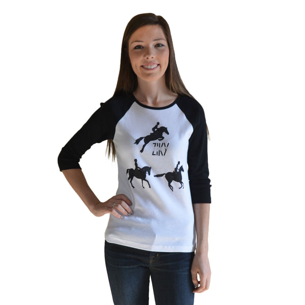 ZIKY equestrian rugby shirt