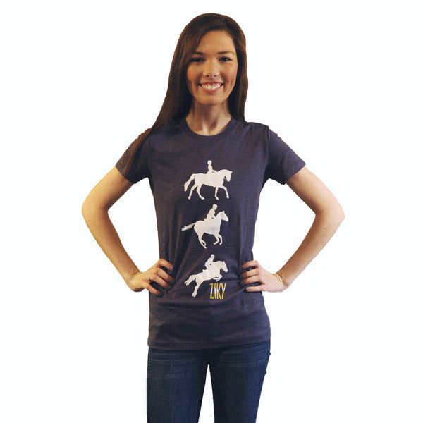 Eventing graphic horse shirt