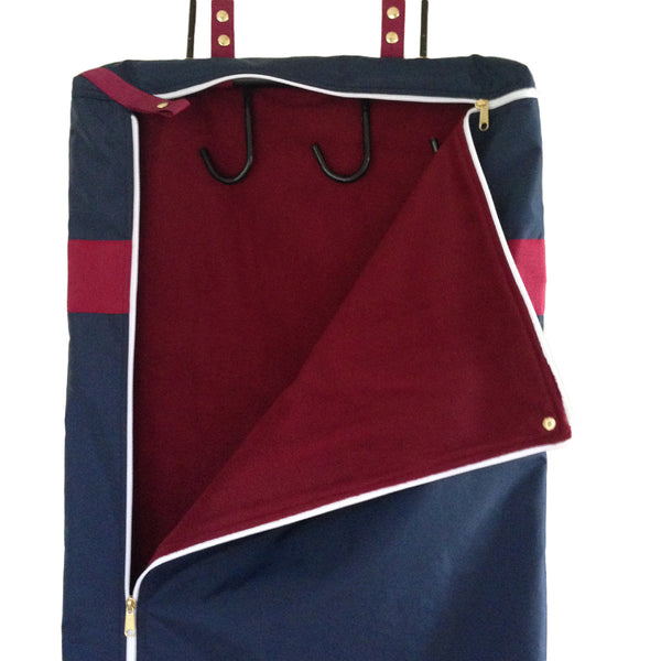 Custom Bridle-Garment Bag Combo