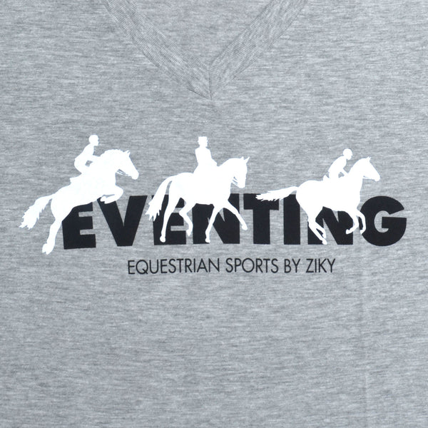 Athletic heather eventing shirt