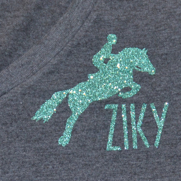 Sparkly horse shirt