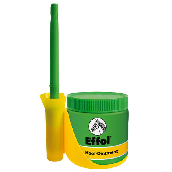 Effol hoof ointment with brush attachment