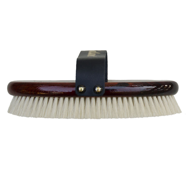 wooden horse grooming brush