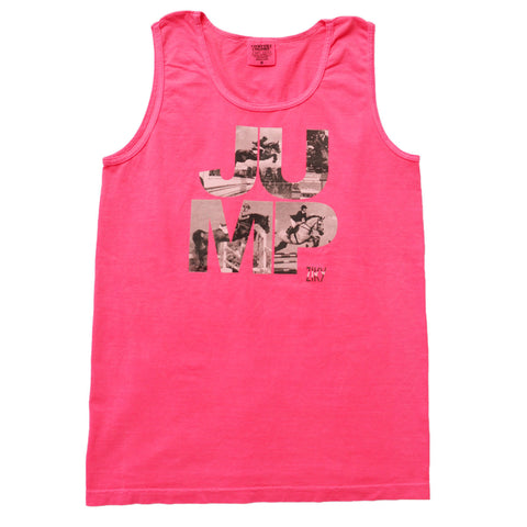 Horse jumper tank top