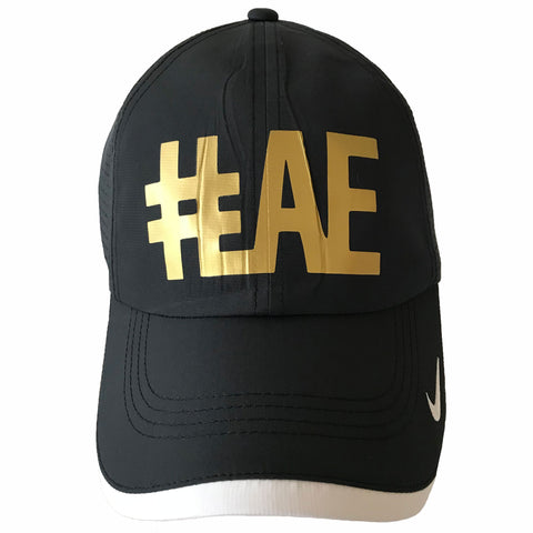 #LAE Nike Eventing cap with golden logo